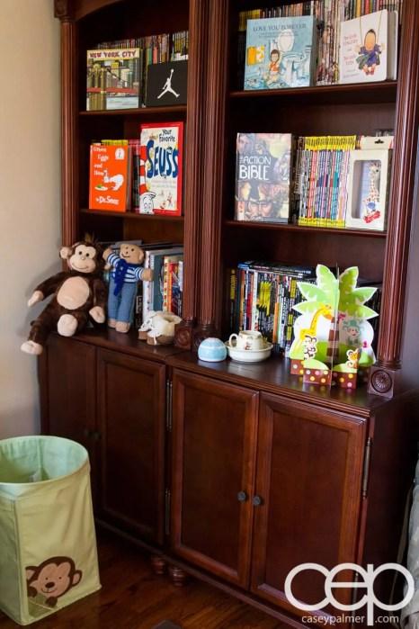 The DoomzToo Birth Story — The Nursery — Bookshelf