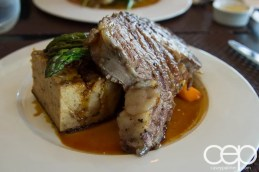 CN Tower — 360 - The Restaurant at the CN Tower — Summer Menu - Prix Fixe — SLOW ROASTED, AGED, CANADIAN AAA PRIME RIB OF BEEF