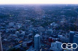 CN Tower — 360 - The Restaurant at the CN Tower — A View of Toronto