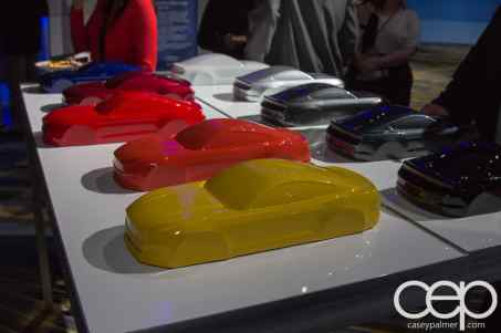 #FordNAIAS 2014 — Day 2 — Cobo Hall — Behind the Blue Oval — Ford Mustang Fibreglass Concepts