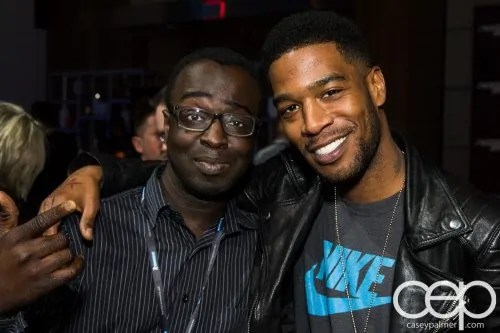 #FordNAIAS 2014 — Day 2 — Cobo Hall — Behind the Blue Oval — Need for Speed Screening — Casey Palmer and Scott Mescudi aka Kid Cudi