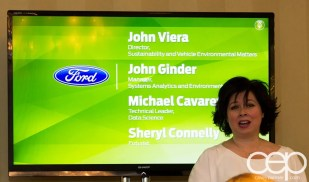 #FordNAIAS 2014 — Day 3 — The Dearborn Inn — Learning Sessions — Big Data as a Sustainability Driver — Sheryl Connelly Introduction