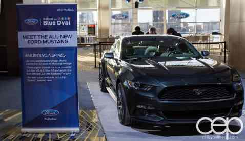#FordNAIAS 2014 — Day 2 — Behind the Blue Oval — Meet the All-New Ford Mustang