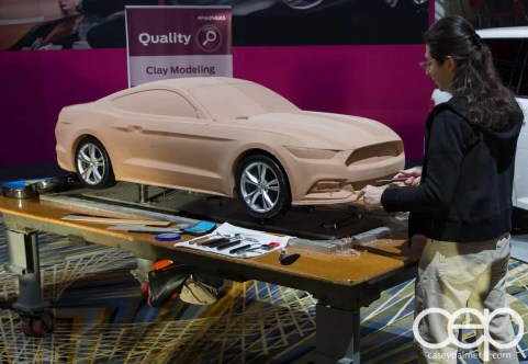 #FordNAIAS 2014 — Day 2 — Quality — Clay Modeling
