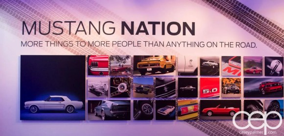#FordNAIAS 2014 — Day 2 — Cobo Hall — North American International Auto Show — Ford Motor Company — Mustang Nation