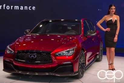 #FordNAIAS 2014 — Day 2 — Cobo Hall — North American International Auto Show — Infiniti — Infiniti Q50 Eau Rouge