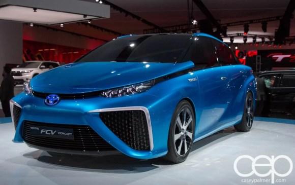 #FordNAIAS 2014 — Day 2 — Cobo Hall — North American International Auto Show — Toyota — Toyota FCV Concept