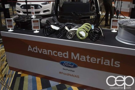 #FordNAIAS 2014 — Day 2 — Cobo Hall — Behind the Blue Oval — Smart — Advanced Materials