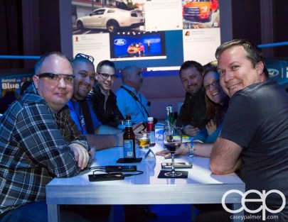 #FordNAIAS 2014 — Day 2 — Cobo Hall — Behind the Blue Oval — Need for Speed Screening — Canadian Bloggers