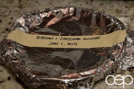 Friends' Food — Andrea — Bacon & Cheddar Quiche