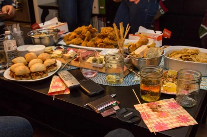 Team Trolling Christmas 2014 — Food — Hot Mess