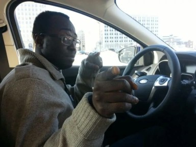 #FordNAIAS 2014 — Day 3 — 2014 Ford Focus Test Drive — Casey Palmer at the Wheel!