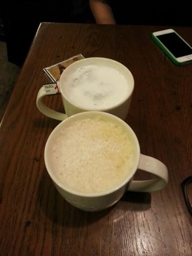 #100HappyDays — Day 9 — Starbucks — TAZO Chai Tea Latte with Ria