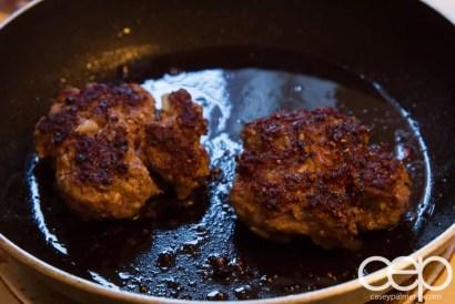 Dempster's DIYSandwich — Danforth Dinner — Burgers Cooking
