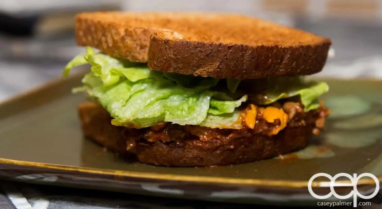 Dempster's DIYSandwich — Sloppy Joes — Final Sandwich