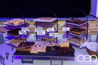 Ford Motor Company of Canada — #FordMustang50 — Dessert Bar — Gluten-free Brownie, Banana Chocolate Chip, Blueberry Cheesecake, Caramel Swirl, Rocky Road, Fudge Brownie, Lemon Squares