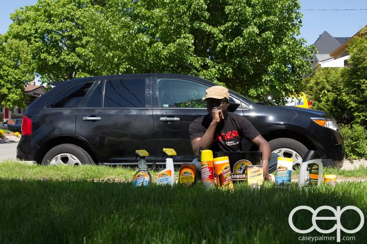 Armor All Spring Cleaning Post — 2011 Ford Edge — Casey and the Armor All Products