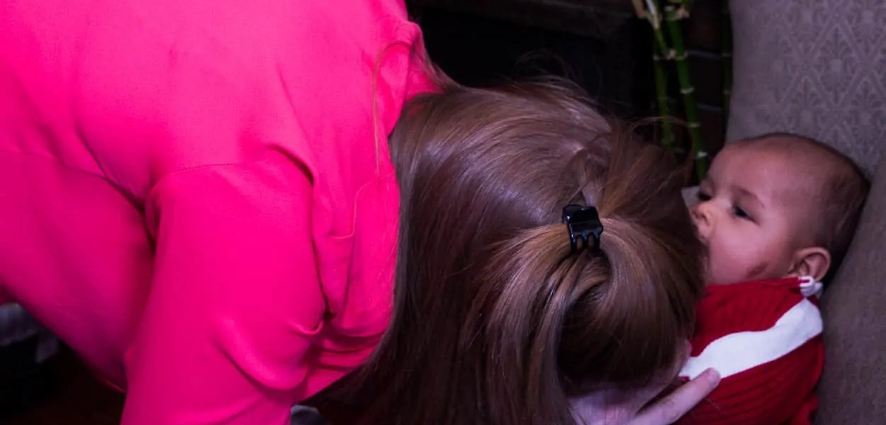 Sarah and the Palmer Kid — Hair Pulling