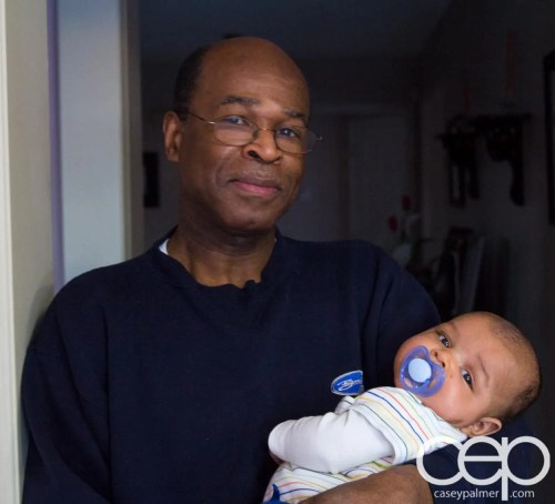 Palmer Family Pics — Granddad and Grandson