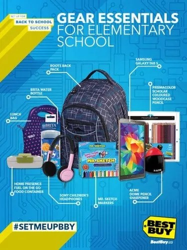 BTS Backpack Campaign — Elementary School