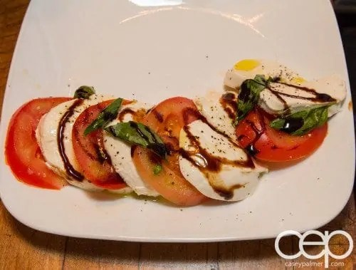G... for Gelato and Espresso Bar — Pizza Party — Caprese Salad