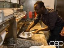 G... for Gelato and Espresso Bar — Pizza Party — Casey Making Pizza
