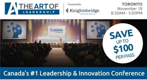 The Art of Leadership—Toronto 2014—The Art of Leadership Promo Pic