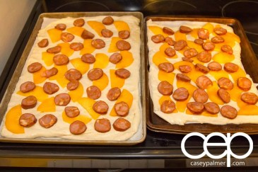 Persimon® Says — Persimon® and Chorizo Pizza — Prepped Pizzas