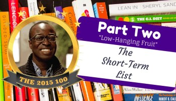 The 2015 100, Part Two — Low-Hanging Fruit- The Short-Term List (Banner)