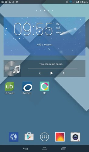 Alcatel OneTouch Pop 8—Home Screen