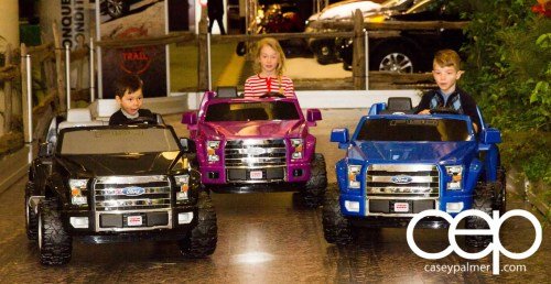 #FordCIAS—2015 Canadian International Auto Show (CIAS)—Kids Rolling Around in Ford Power Wheels