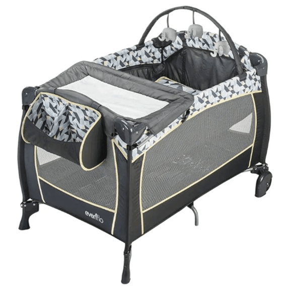 Getting Geared Up for Fatherhood with Future Shop — Evenflo Playard
