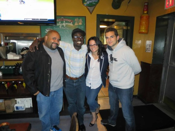 A Week in the Life... September 27th—October 3rd, 2015—Justin Casey Tiffany and Zach at The Wheat Sheaf