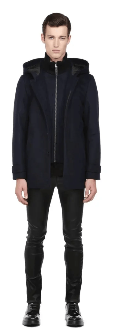 A Week in the Life... September 27th - October 3rd, 2015 — Mackage Gerald Navy Flat Wool Coat