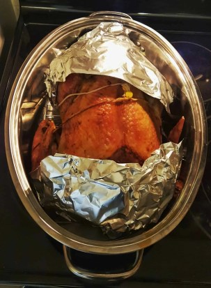 #ButterBallMakesItEasy — Can Butterball Canada Turn Casey From a Kitchen Turkey to a Cooking Whiz — Butterball Stuffed Turkey in its Final Hour