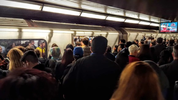 The Week That Was... October 11-17, 2015—TTC Subway Delay—Toronto—Bloor-Yonge Station