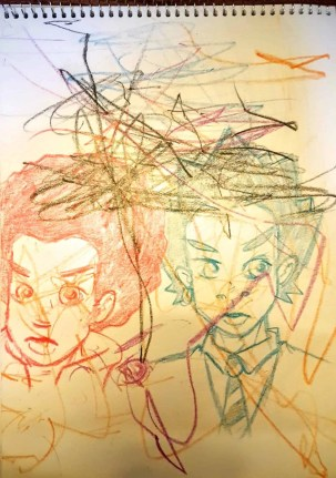 The Week That Was... November 15th - 21st, 2015 — Casey and Little Man's Collaboration Sketch
