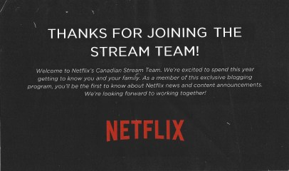 The Week That Was... November 1st - 7th, 2015 — Netflix Stream Team — Welcome to the Stream Team!