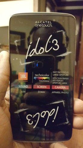 A Case Cringle Christmas, Day 1 — Keep Your Phone Game on Fleek with the Alcatel onetouch Idol 3 — A Brand-New Alcatel onetouch Idol 3