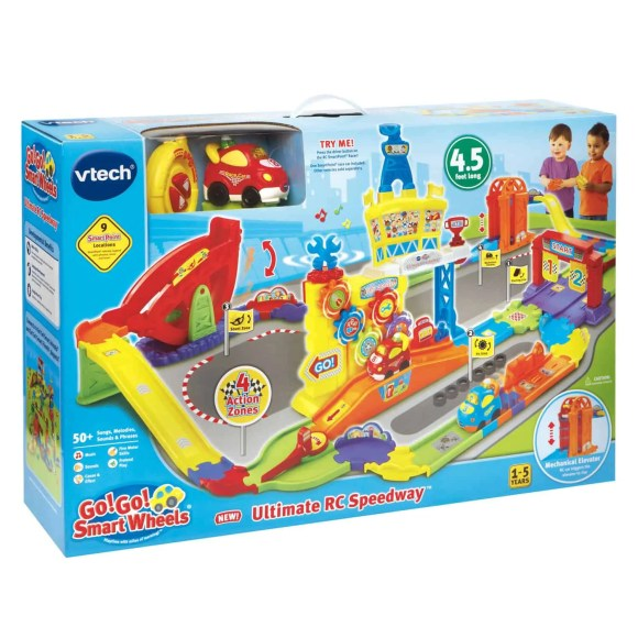 A Case Cringle Christmas, Day 5—Helping Kids Connect with VTech!—VTech Go! Go! Smart Wheels Ultimate RC Speedway—Packaging