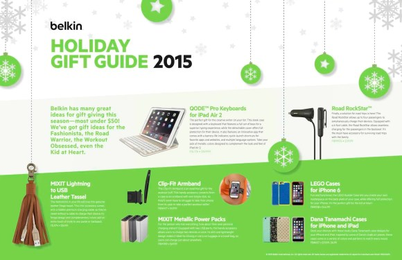 A Case Cringle Christmas, Day 6—In Security Mode Thanks to Belkin Qode!—Belkin Holiday Gift Guide 2015