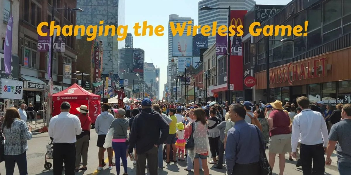 Changing the Wireless Game (Banner)