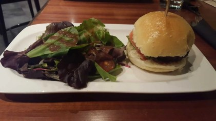 The Month That Was... November 22nd - December 26th, 2015 — Four — Bison Burger with Fries