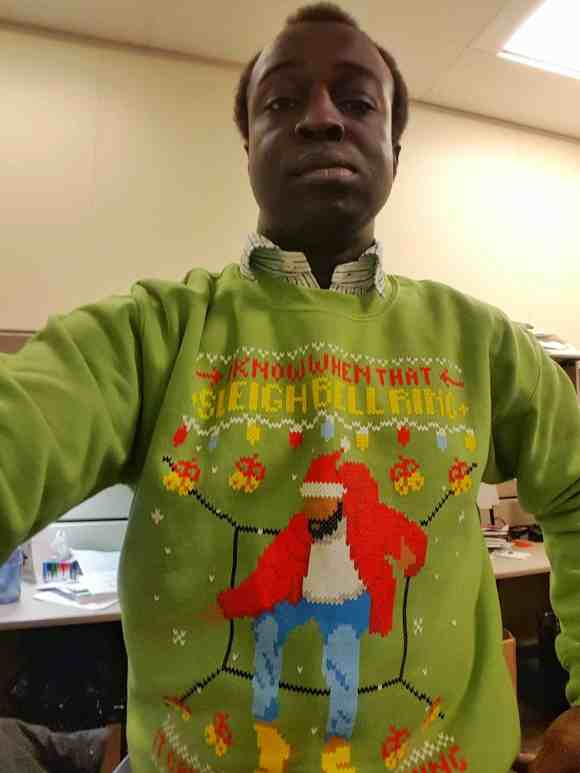 The Month That Was... November 22nd - December 26th, 2015 — Fresh Brewed Tees Drake Hotline Sleigh Bell Ring Sweater