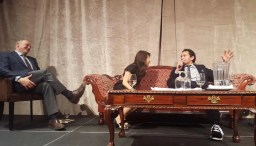 The Month That Was... November 22nd - December 26th, 2015 — Read for the Cure — Wab Kinew Speaking, Ian Brown and Kim Thuy Look On