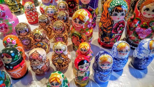 The Month That Was... November 22nd - December 26th, 2015 — Toronto Christmas Market — Russian Dolls