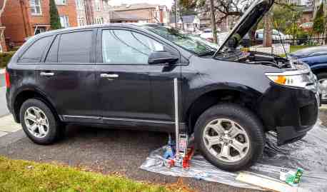 Quaker State's Quest to Build a Better Grown-Up! — The 2011 Ford Edge Jacked Up