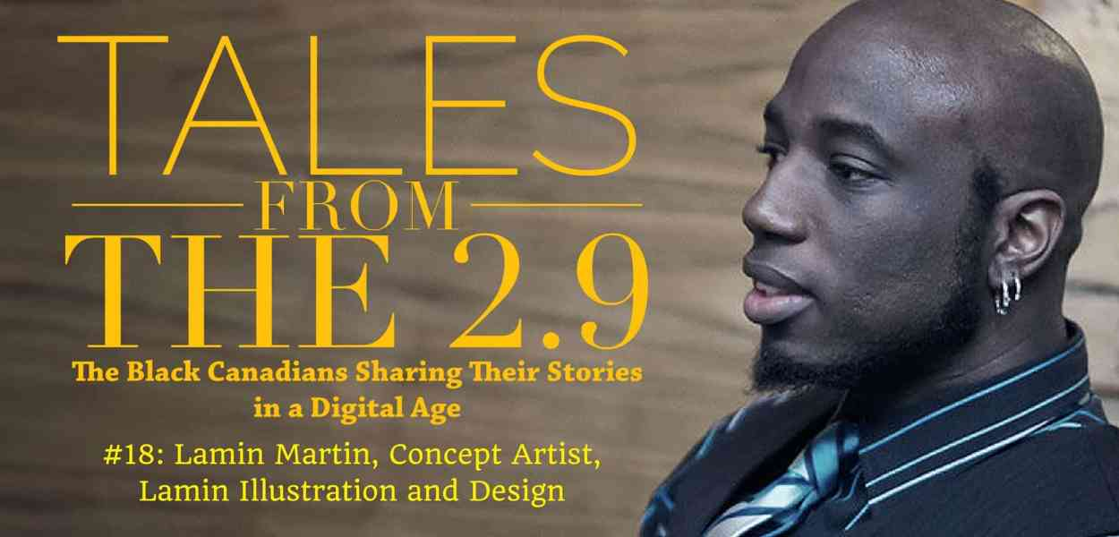 Tales from the 2.9 — Lamin Martin (Featured Image)