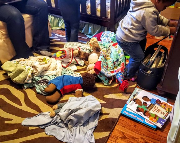 """Saying """"Yes"""" to the Mess — How Swiffer Helps with the Hot Mess of Parenting — The Messy Nursery"""