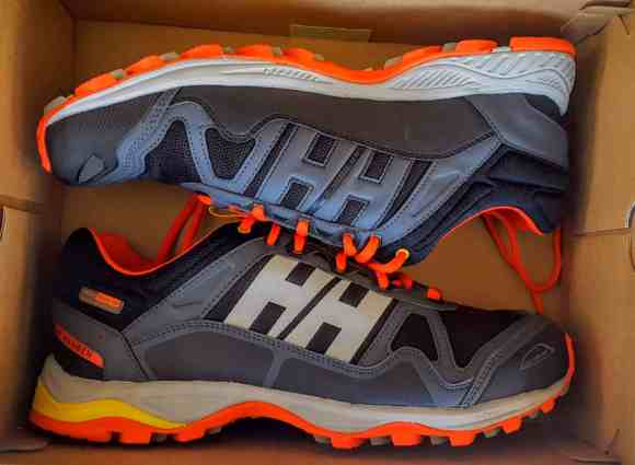 Happy Father's Day from Mark's — or — Papa Got Some Brand New Shoes — Helly Hansen Pace Trail Waterproof Shoes — In the Box